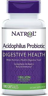 Natrol Acidophilus Probiotic 100mg Capsules, 100 Count