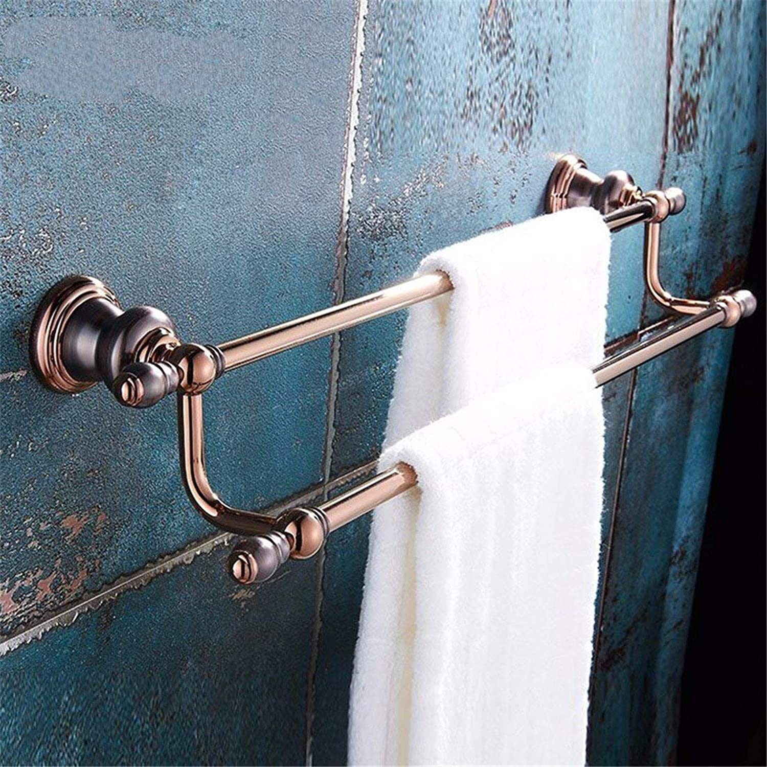 Pink gold, Dry-Towels in The Main Bathroom All in Copper Handle, Double Pole