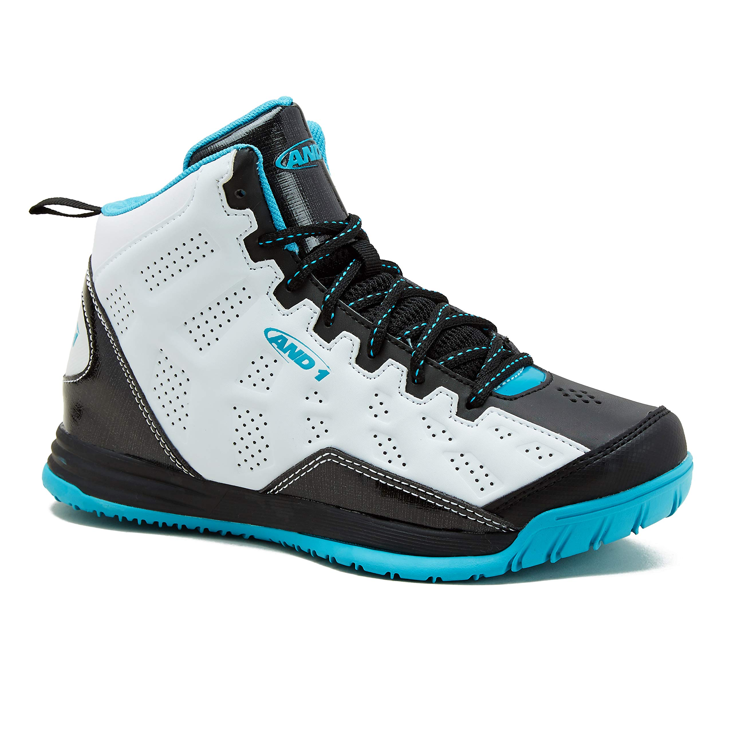 AND1 Basketball Little White Black