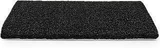 Camco 42966 Black Premium Wrap Around RV Step Rug (PVC Material (22