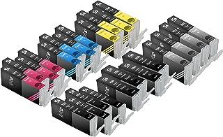 24 Pack Sherman Ink Cartridges for Printers PIXMA MX922, PIXMA MG5420, PIXMA MG6320, PIXMA MG7120, PIXMA MG5520, PIXMA iP7...