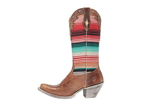 Serape Paisley Creek Brown PrintCrackled Ariat Cattle Cheyenne Circuit Southwestern Red Tan nwY6qvUS