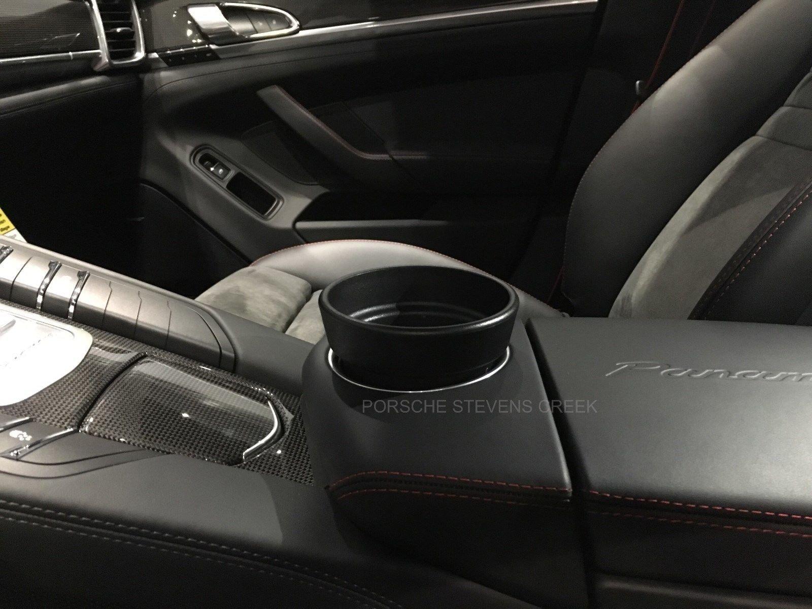2010-2017 Kuda 089080 Leather Mount Black Compatible with Porsche Panamera