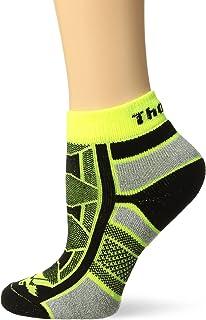 Thorlos Unisex OAQU Outdoor Athlete Thin Padded Ankle Sock, YELLOW JACKET, Medium