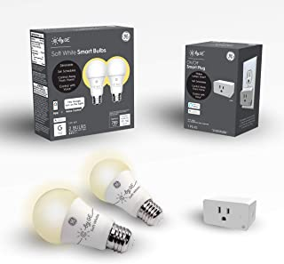 C by GE Smart Bundle Pack With 2 Smart Bulb And Smart...