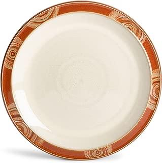 Denby Fire Chilli Rim Salad Plate