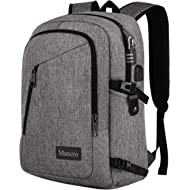 Laptop Backpack, Anti Theft Durable Travel Backpacks Water Resistant School College Bookbag for...