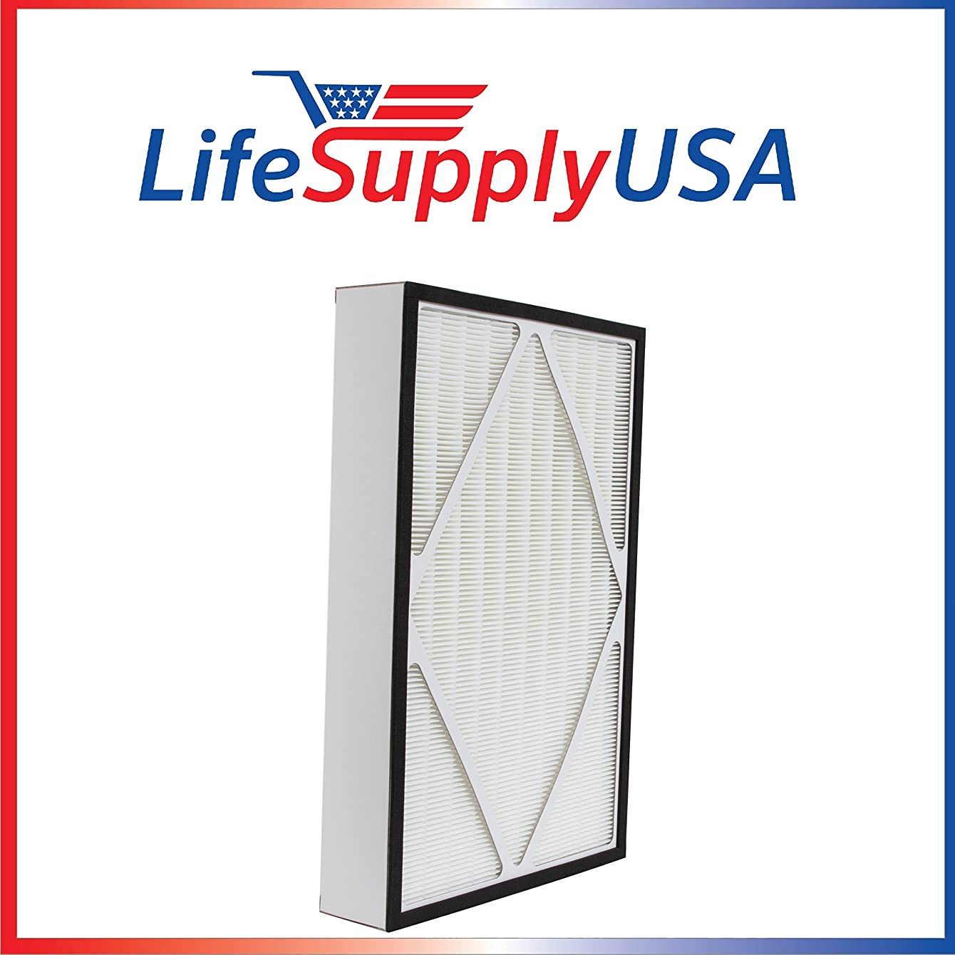 LifeSupplyUSA True HEPA Replacement Filter Fits Hamilton Beach 04913, 04162, and 04163