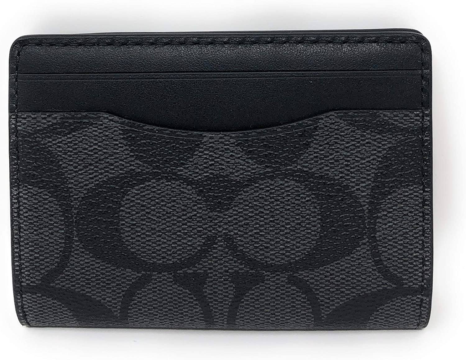 25% OFF Tampa Mall Coach Men's Magnetic Card Case Charcoal Small Qb