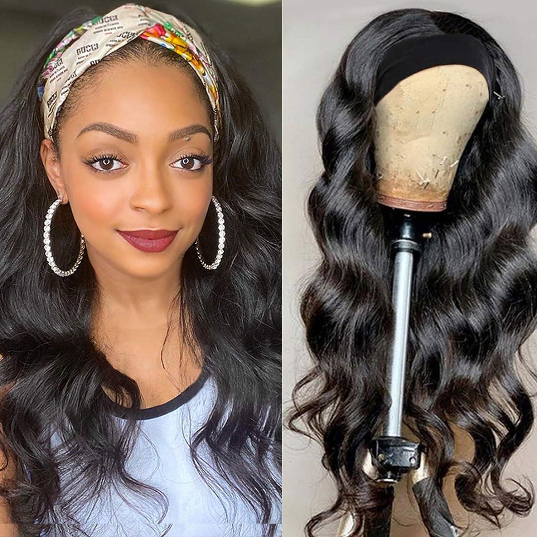 ITODAY Headband Wigs for Women Popular popular Brazilian Body Wave Human Wi Hair Lowest price challenge