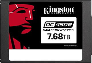 Kingston Data Center DC450R SSD SEDC450R/7680G 6GBps SATA Storage for Read-Centric workloads