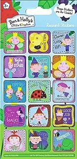 Paper Projects 01.70.12.034 'Ben and Holly's Little Kingdom Sparkly' wielokrotnego użytku naklejki nagrody, 19,5 cm x 9,5 cm