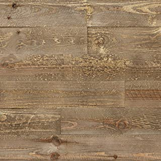 Timberwall - Skid Collection Wooden Pallet - DIY Solid Wood Wall Panel - Nails and Staple Application - 9.5 Sq Ft