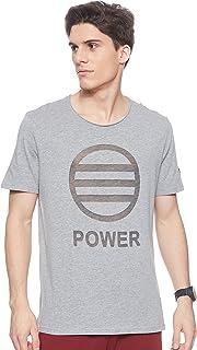 """BodyTalk Men's BDTKM TSHIRT""""Power"""" T-Shirt With Round Neckline"""