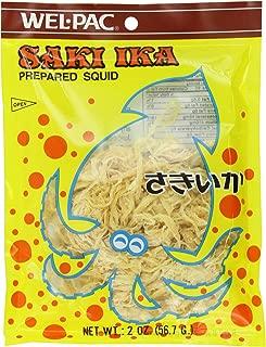 Wel Pac prepared Squid, Saki Ika, 2-Ounce (Pack of 6)