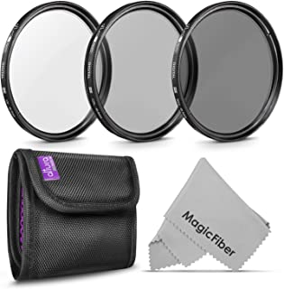 40.5MM Lens Filter Kit by Altura Photo, Includes 40.5MM ND Filter, 40.5MM CPL Filter, 40.5MM UV Filter, (UV, Polarizer Fil...
