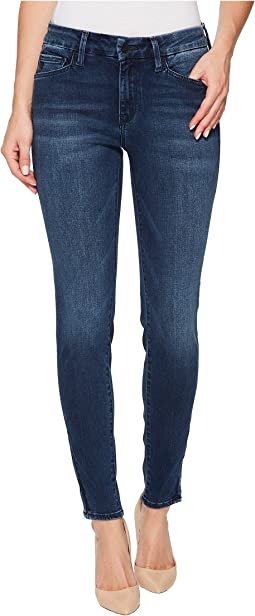 Mavi Jeans - Adriana Mid-Rise Super Skinny Ankle in Zip Indigo Move