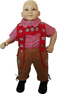 Fantasy World Bavarian-boy Toddler-s Halloween Costume-s, Baby Girl-s boy-s, F120 Size: 12-18mths