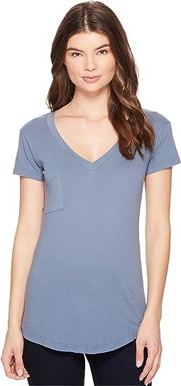 LAmade - V-Pocket Tee - Tissue Jersey