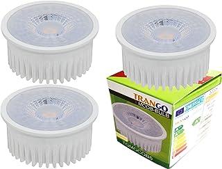 Trango 3 pack módulo blanco cálido 3TGMOCOB5SD 3000K Dimmable LED para el intercambio de GU10 & MR16 lámpara halógena, para lámparas de montaje, lámparas de techo, luz empotrada, lámpara de techo Spot