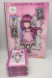 GS1 GORJUSS 3 Santoro London Album + 50 bustine Figurine Panini Stickers