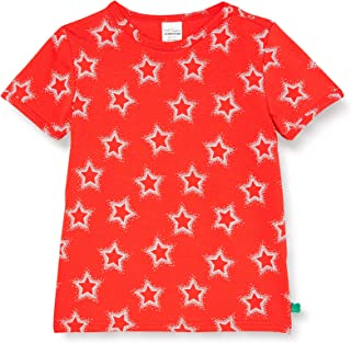 Fred'S World By Green Cotton Star S/S T Baby T-Shirt Bébé Fille
