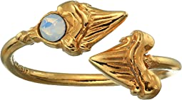 Shark Tooth Ring Wrap - Precious Metal