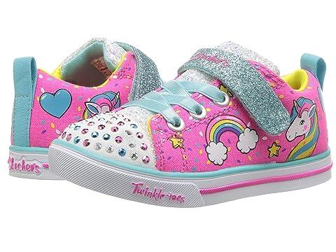 Skechers Kids Twinkle Toes Sparkle Lite Unicorn Craze