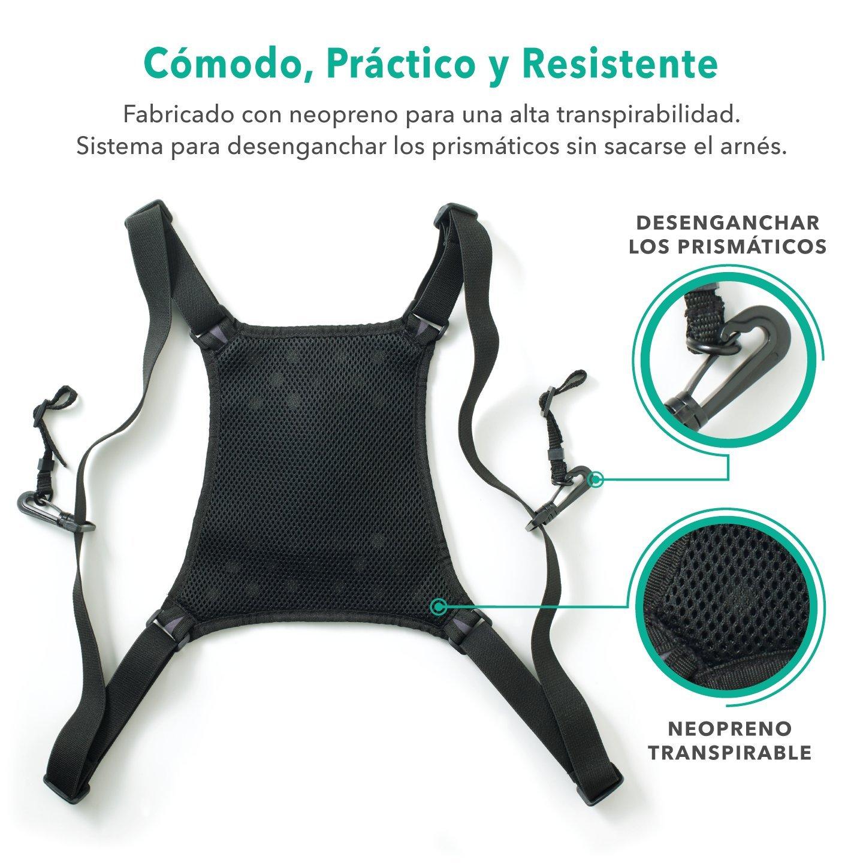 Slokey Arnés de Sujeción para Prismáticos – El Mejor Accesorio para Prismáticos. Universal para Todos los Prismáticos.: Amazon.es: Electrónica