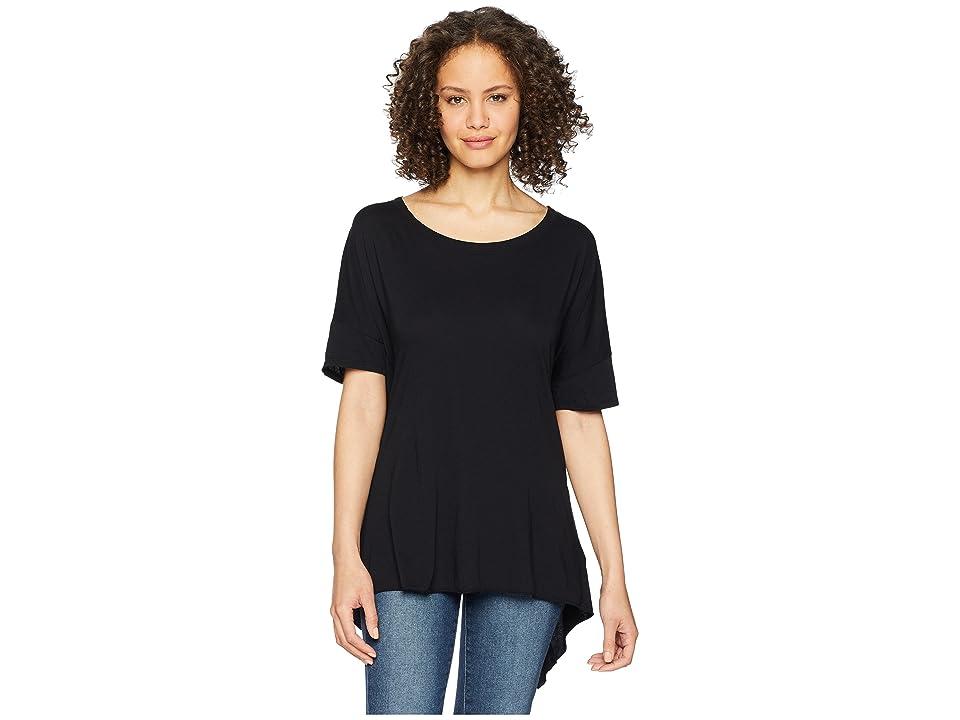 LAmade Mack Open Back Tee (Black) Women's T Shirt