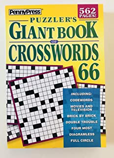 Volume 66 of the Puzzlers Giant Book of Crosswords Penny Press