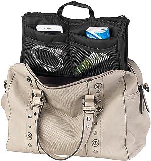 Xcase Organizer Tasche: Handtaschen-Organizer m. 13 Fächern, 29 x 17 x 8 cm, waschbar, schwarz Bag in Bag
