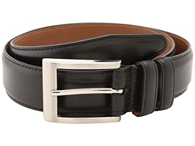 Allen Edmonds Wide Basic Dress Belt (Black Calf) Men