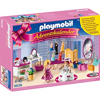 Playmobil 6626 Adventskalender Ankleidespass Fur Die Grosse Party Playmobil 6624 Adventskalender Weihnacht Auf Dem Bauernhof Amazon De Spielzeug