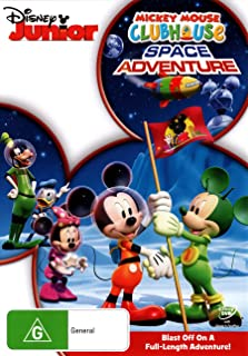 Mickey Mouse Clubhouse: Space Adventure (DVD)