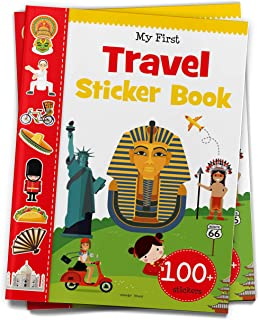 My First Travel Sticker Book : Exciting Sticker Book With 100 Stickers