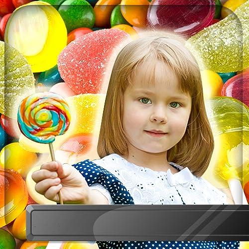 Süßigkeiten Bilderrahmen