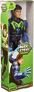 """Max Steel Figura de Acción Básica 12"""", Azul"""