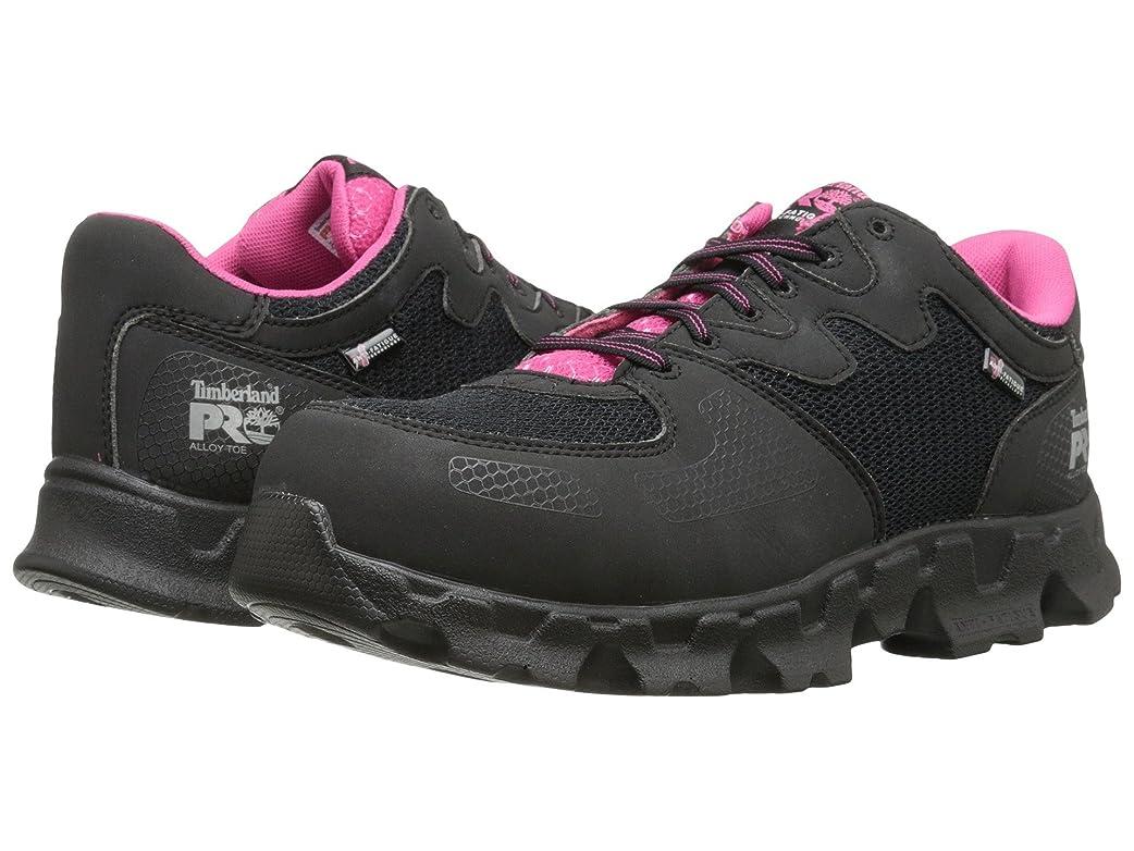 ブラウザ脆いバンク[ティンバーランド] レディースウォーキングシューズ?カジュアルスニーカー?靴 Powertrain Alloy Toe ESD Black/Pink 8.5 (25.5cm) B - Medium [並行輸入品]