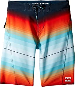Billabong Kids Fluid X Boardshorts (Big Kids)