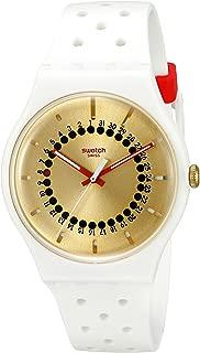 Swatch Unisex SUOW400 Originals Analog Display Swiss Quartz White Watch