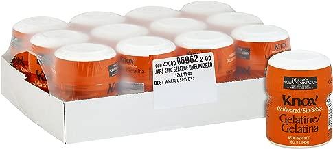 Best knox gelatin bulk Reviews