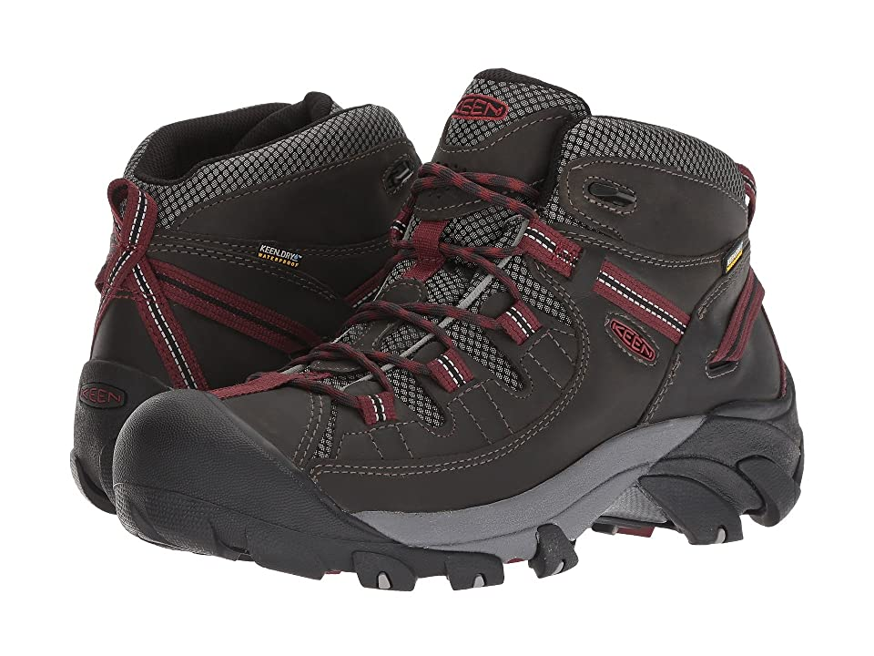 Keen Targhee II Mid WP (Alcatraz/Fried Brick) Men