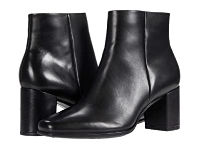 ECCO Shape 60 Squared Ankle Bootie (Black) Women
