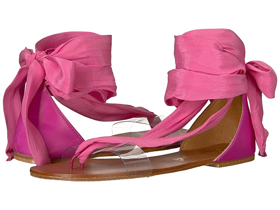 Free People Barcelona Wrap Sandal (Pink) Women