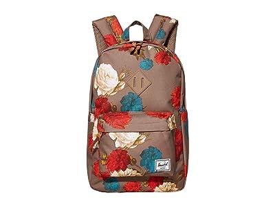 Herschel Supply Co. Heritage Mid-Volume (Vintage Floral Pine Bark) Backpack Bags