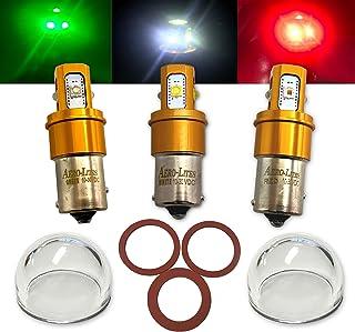 Aircraft LED Position Bulb Replacement Kit | 12/28-Volt Compatible | Aero-Lites Gold Series