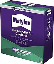 Metylan Renovatievlies & glasvezel, behanglijm & primer voor renovatievlies, glasvezel- & structuurbehang met vliesrug, li...