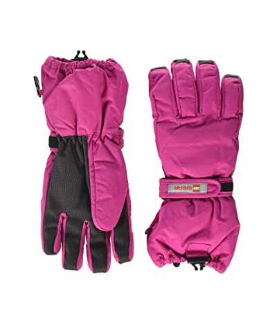 LEGO Kids Snow Gloves with Thinsulate Insulation (Little Kids/Big Kids) (Dark Pink) Over-Mits Gloves