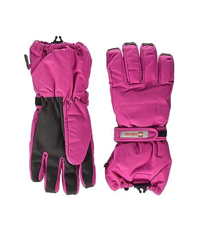 LEGO Kids Snow Gloves with Thinsulate Insulation (Little Kids/Big Kids) (Dark Pink) Over-Mits Gloves